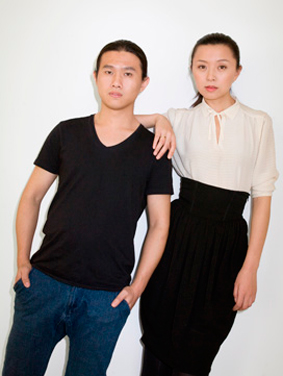 Cacharel-duo Ling Liu and Dawei Sun