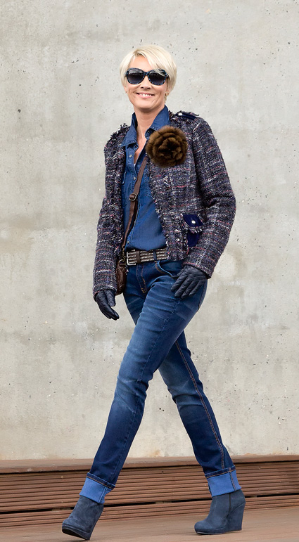 Denim-smart-Chanel-look
