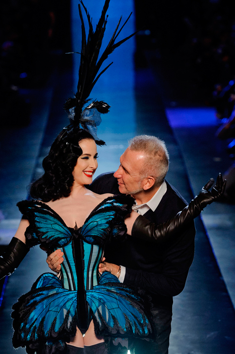 Jean-Paul-Gaultier-and-Dita-Von-Teese