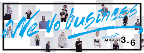 """We do business"" campaign SS2015 for Cph Vision"