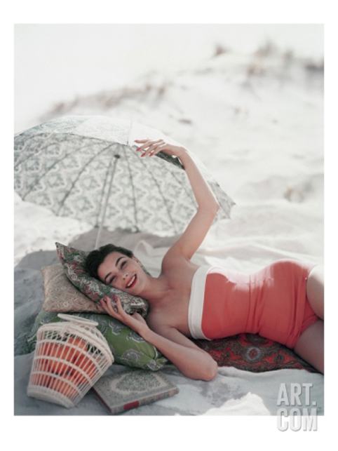 karen-radkai-vogue-july-1954-Art.com